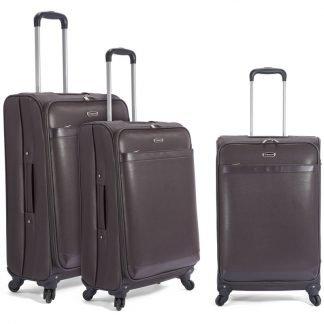 Juego de 3 maletas Benzi BZ448 en PVC imitación piel