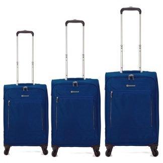 Juego-de-3-maletas-Benzi-BZ4894-Azul-electrico