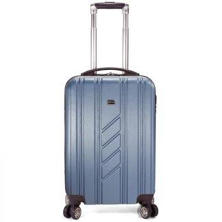 Vista frontal de la maleta